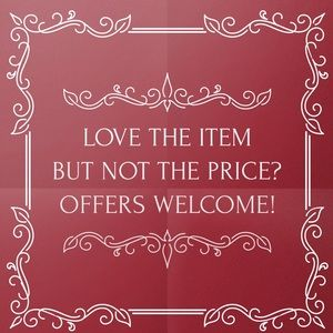 I❤️Offers!   ALL reasonable offers considered!